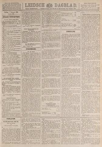 Leidsch Dagblad 1919-02-07
