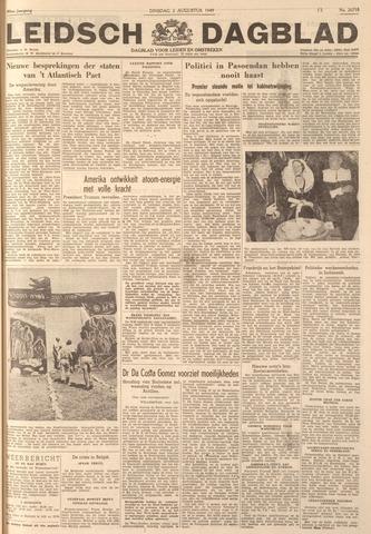 Leidsch Dagblad 1949-08-02