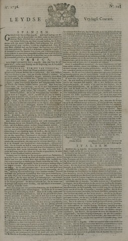 Leydse Courant 1736-09-07