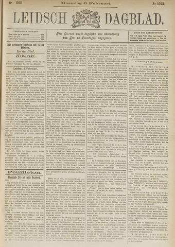 Leidsch Dagblad 1893-02-06