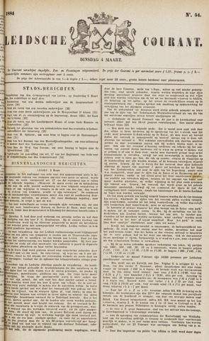 Leydse Courant 1884-03-04