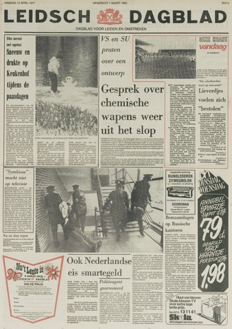 Leidsch Dagblad 1977-04-12