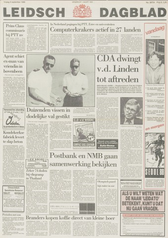 Leidsch Dagblad 1988-09-09