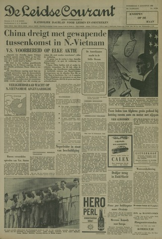 Leidse Courant 1964-08-06