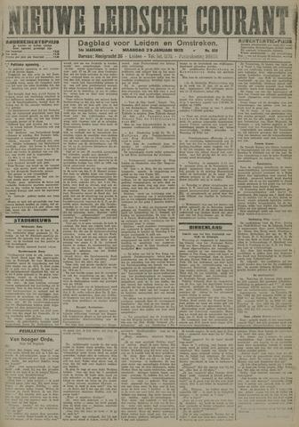 Nieuwe Leidsche Courant 1923-01-29