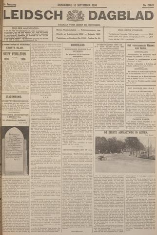 Leidsch Dagblad 1930-09-11
