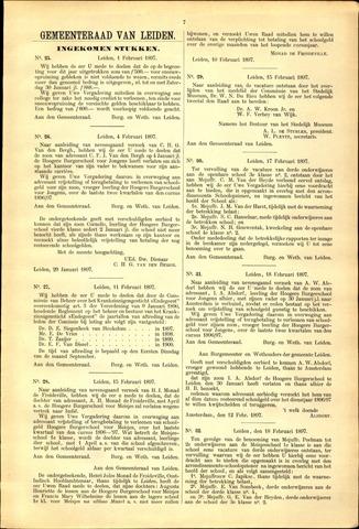 Handelingen van de Raad 1897-02-01