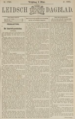 Leidsch Dagblad 1885-05-01