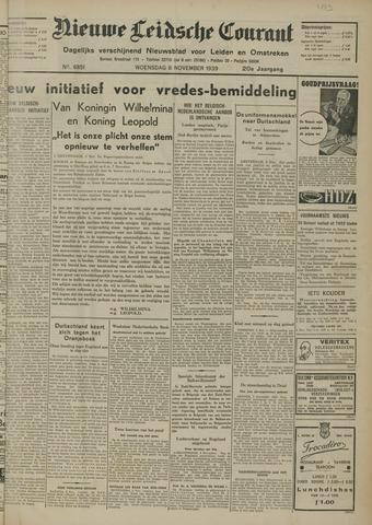 Nieuwe Leidsche Courant 1939-11-08