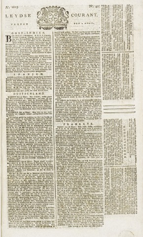 Leydse Courant 1819-04-02