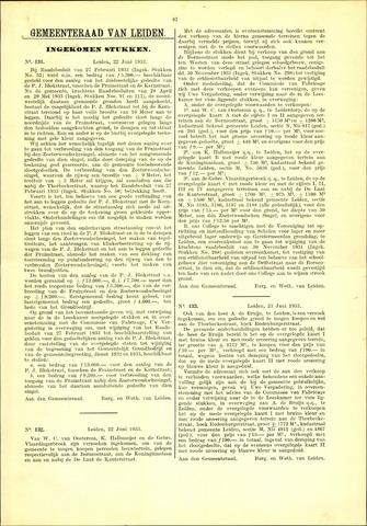 Handelingen van de Raad 1933-06-22