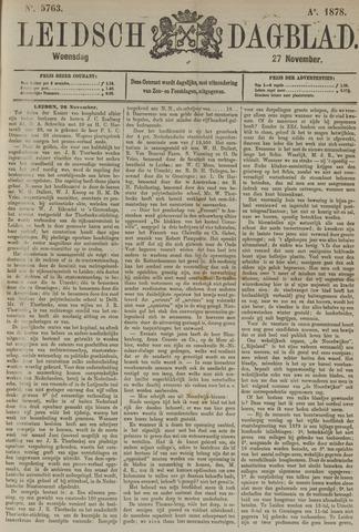 Leidsch Dagblad 1878-11-27