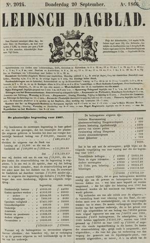Leidsch Dagblad 1866-09-20
