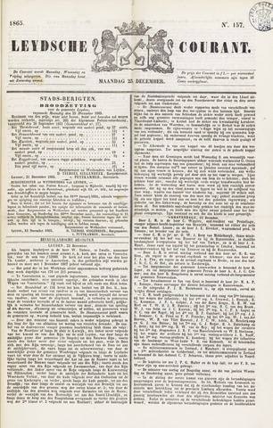 Leydse Courant 1865-12-25