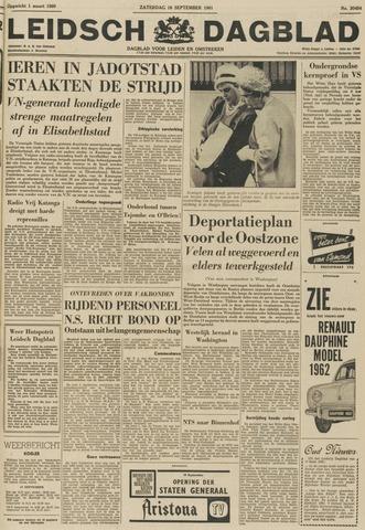 Leidsch Dagblad 1961-09-16