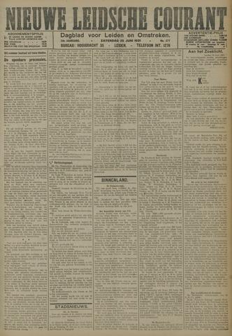Nieuwe Leidsche Courant 1921-06-25