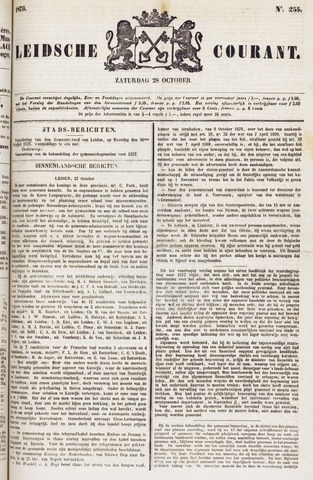 Leydse Courant 1876-10-28