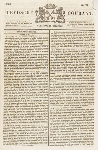 Leydse Courant 1860-02-22