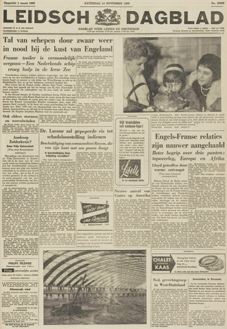 Leidsch Dagblad 1959-11-14