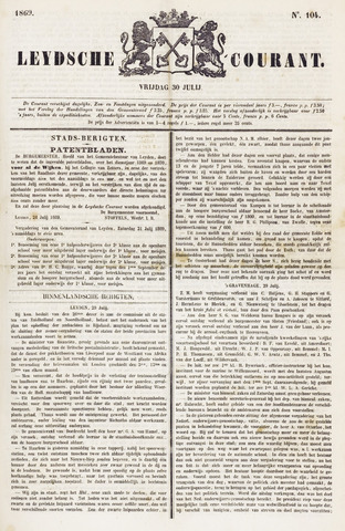 Leydse Courant 1869-07-30
