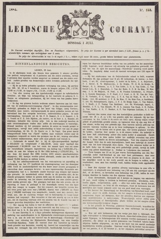 Leydse Courant 1884-07-01