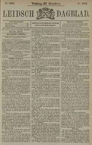 Leidsch Dagblad 1882-10-27