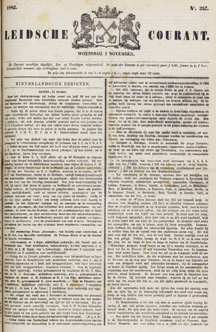 Leydse Courant 1882-11-01