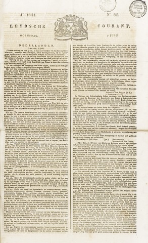Leydse Courant 1841-07-07