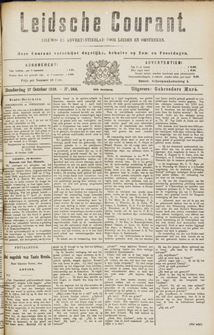 Leydse Courant 1889-10-17