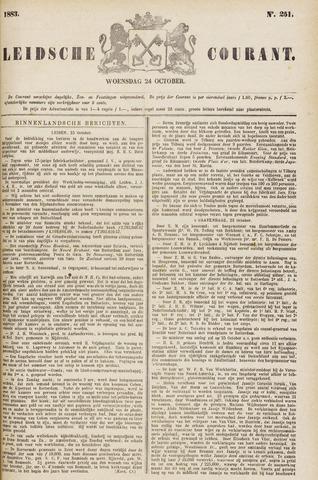 Leydse Courant 1883-10-24