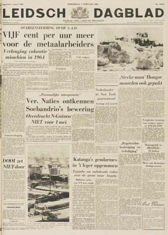 Leidsch Dagblad 1963-02-07