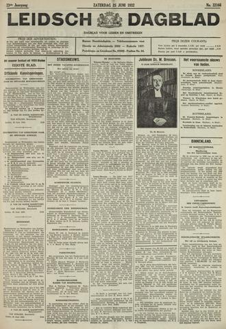 Leidsch Dagblad 1932-06-25