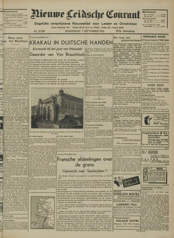 Nieuwe Leidsche Courant 1939-09-07