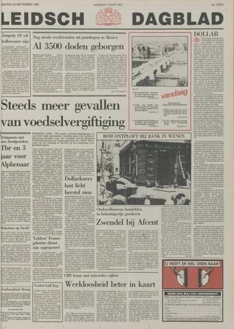 Leidsch Dagblad 1985-09-24