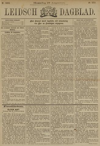 Leidsch Dagblad 1890-08-18