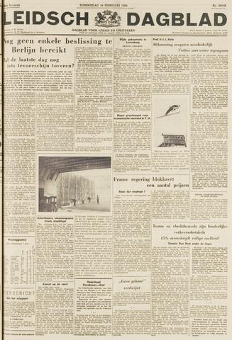 Leidsch Dagblad 1954-02-18