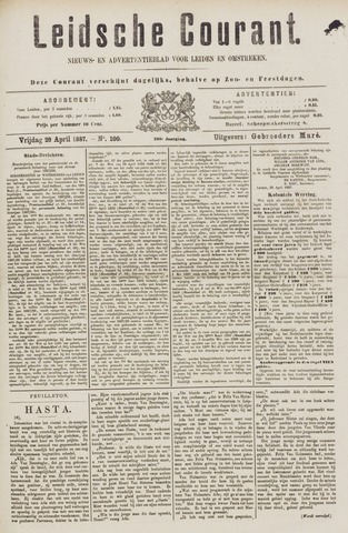 Leydse Courant 1887-04-29