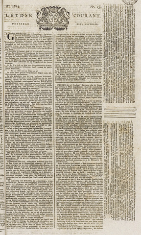 Leydse Courant 1814-11-09