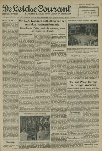 Leidse Courant 1952-08-22