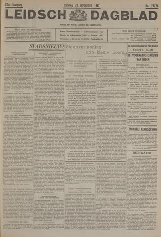 Leidsch Dagblad 1937-09-28