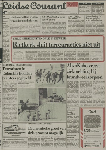 Leidse Courant 1985-11-07