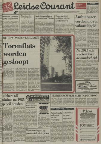 Leidse Courant 1984-10-11