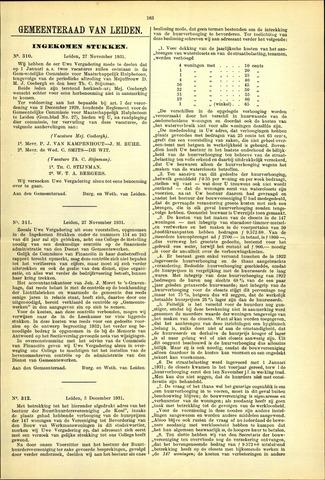 Handelingen van de Raad 1931-11-27