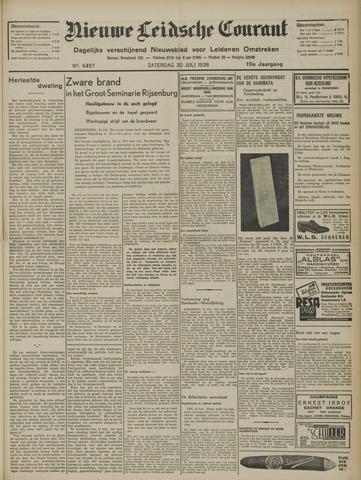 Nieuwe Leidsche Courant 1938-07-30