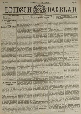 Leidsch Dagblad 1896-11-02