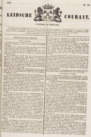 Leydse Courant 1875-02-20