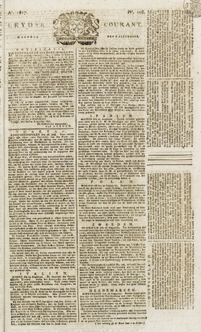 Leydse Courant 1817-09-08
