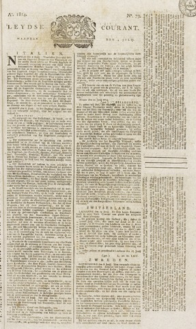 Leydse Courant 1814-07-04