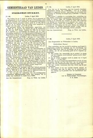 Handelingen van de Raad 1918-04-09