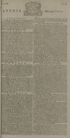 Leydse Courant 1739-05-25